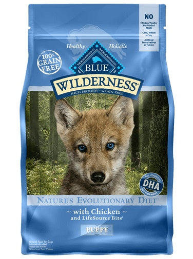BLUE Wilderness Chic Pup   4.5