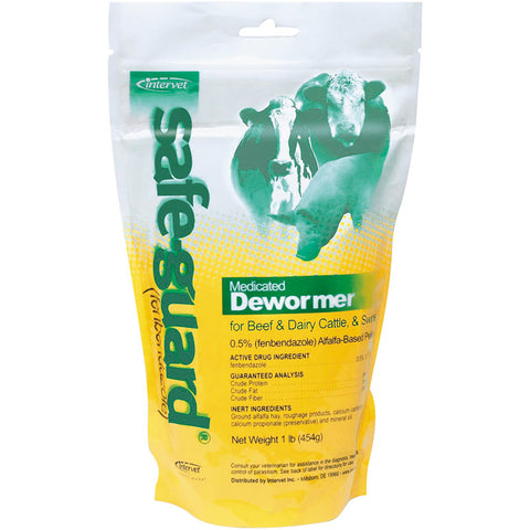 SAFE GUARD PELLET CATTLE 1 LB