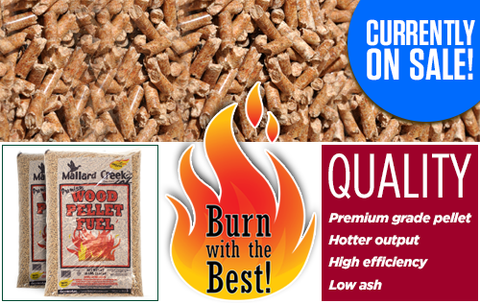 Mallard Creek Wood Pellets