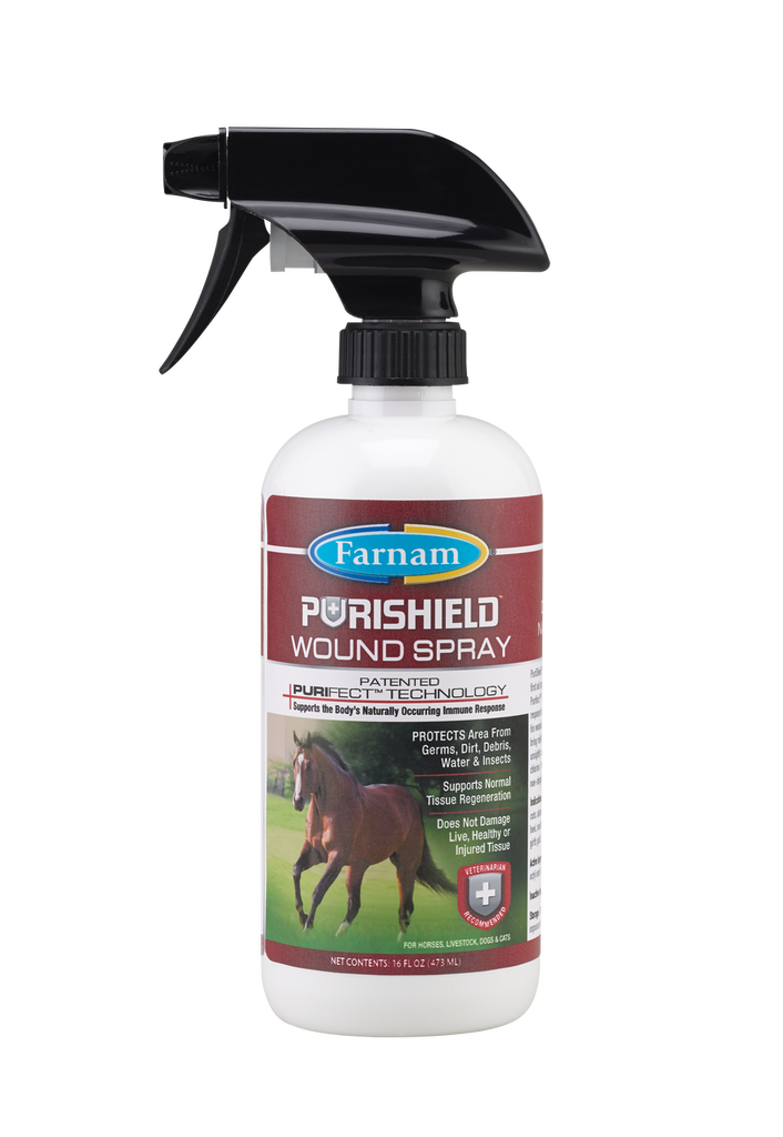 PURISHIELD WOUND SPRAY 16OZ