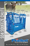Priefert S04 Squeeze Chute