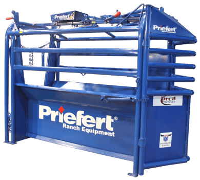 Priefert ROPING CHUTE MODEL 98 WITH Q36 SOLAR CONTROL BOX