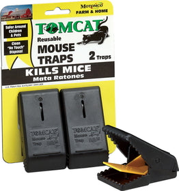 TOMCAT SNAP MOUSE TRAP 2PK