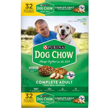 PURINA DOG CHOW 32 LB