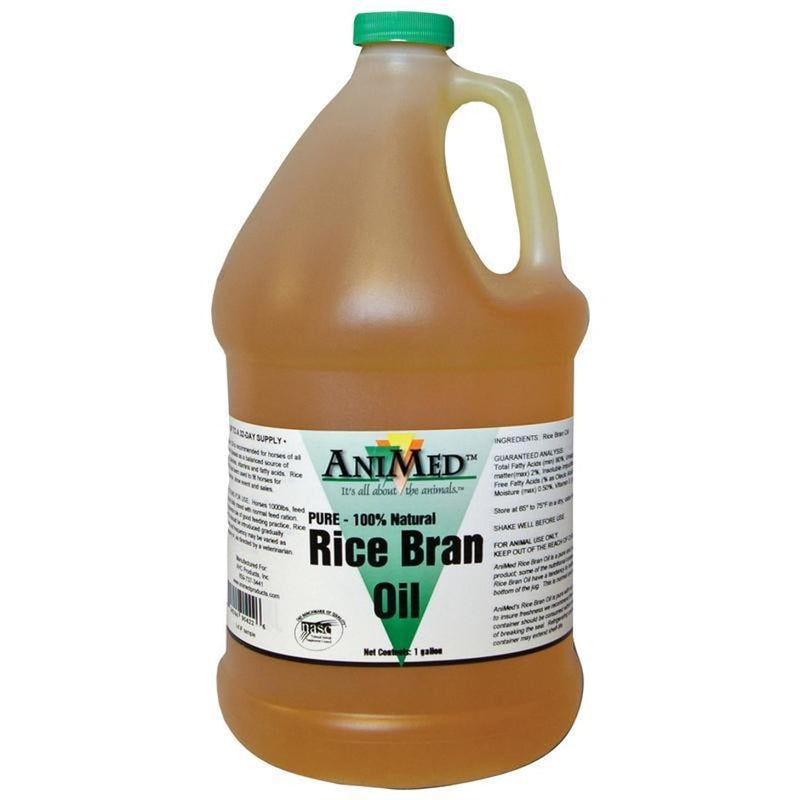 ANIMED RICE BRAN OIL 1 GAL