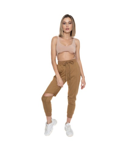 Cut Out Joggers
