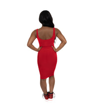Load image into Gallery viewer, Red Tank Dress