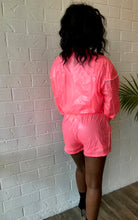 Load image into Gallery viewer, Pink Me Windbreaker Shorts