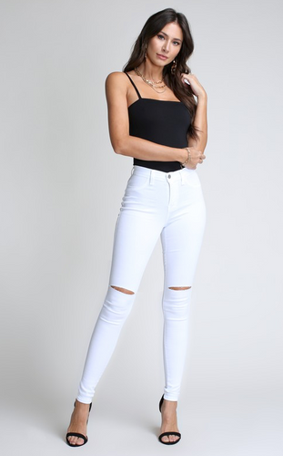 High Waisted Skinny Denim