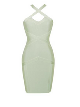Load image into Gallery viewer, Sage Bandage Dress
