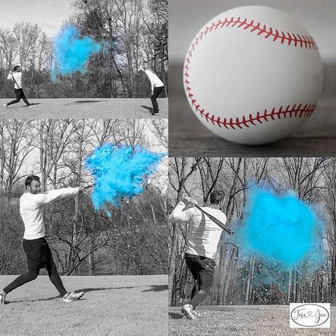 Gender Reveal Baseball Party Idea