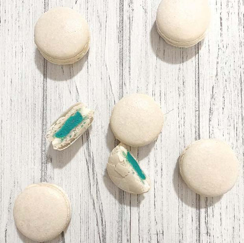 Gender Reveal Macarons Party Idea