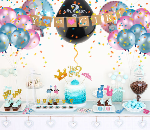 Pickup a theme for your Gender Reveal Party