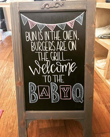 Gender Reveal Summer BBQ Party Idea