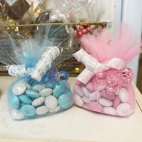 Gender Reveal Sweet Party Favor Ideas