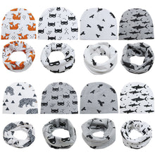 Load image into Gallery viewer, 100% Cotton Newborn Baby Beanie Hats