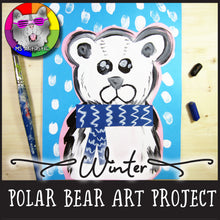 Load image into Gallery viewer, Winter Art Project, Polar Bear