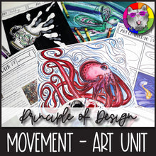 Load image into Gallery viewer, Principles of Design: Movement, Art Unit