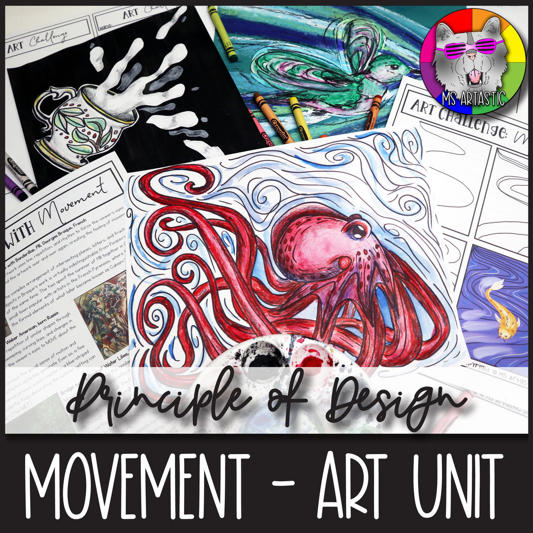 Principles of Design: Movement, Art Unit