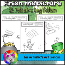 Load image into Gallery viewer, St. Patrick's Day Activity: Finish the Picture!