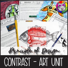 Load image into Gallery viewer, Principles of Design: Contrast, Art Unit