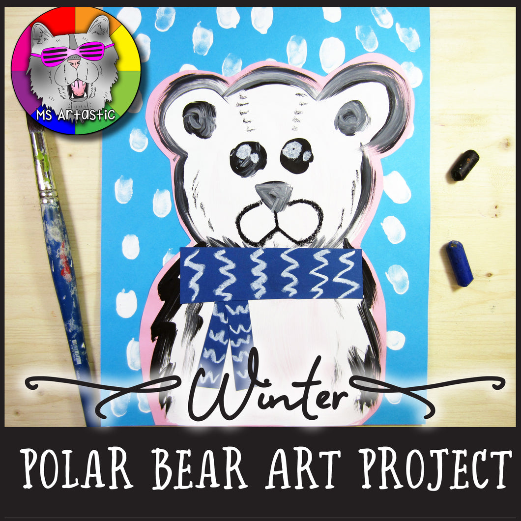 Winter Art Project, Polar Bear