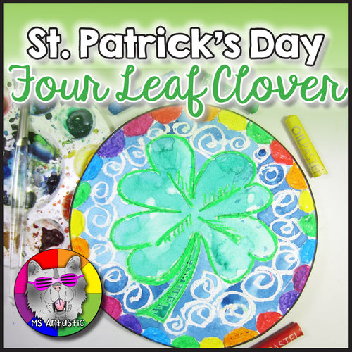 St. Patrick's Day Art Project, Four Leaf Clover
