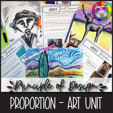 Load image into Gallery viewer, Principles of Design: PROPORTION, Art Unit