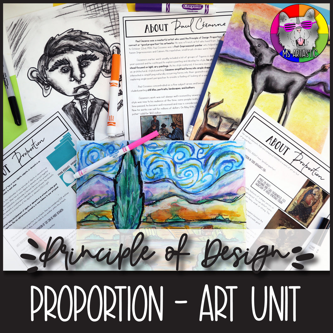 Principles of Design: PROPORTION, Art Unit