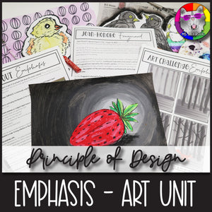 Principles of Design: Emphasis, Art Unit