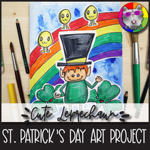 Load image into Gallery viewer, St. Patrick's Day Art Project, Leprechaun and Friends