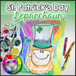St. Patrick's Day Art Project, Leprechaun