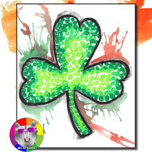 Load image into Gallery viewer, St. Patrick's Day Art Lesson, Shamrock