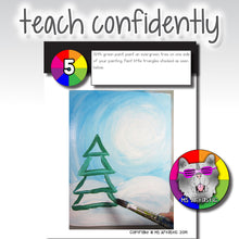 Load image into Gallery viewer, Winter Art Project, Winter Value Painting