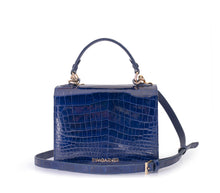 Load image into Gallery viewer, Loulou Handbag Dark Blue