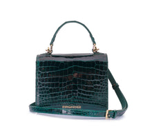 Load image into Gallery viewer, Loulou Handbag Dark Green