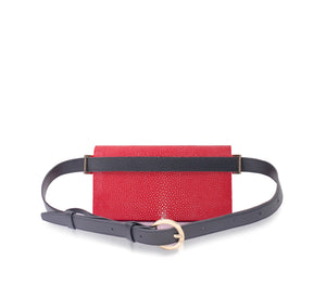 Poppy Belt Bag Red