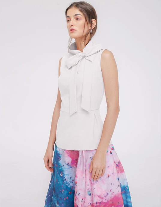 Braeley Top Offwhite