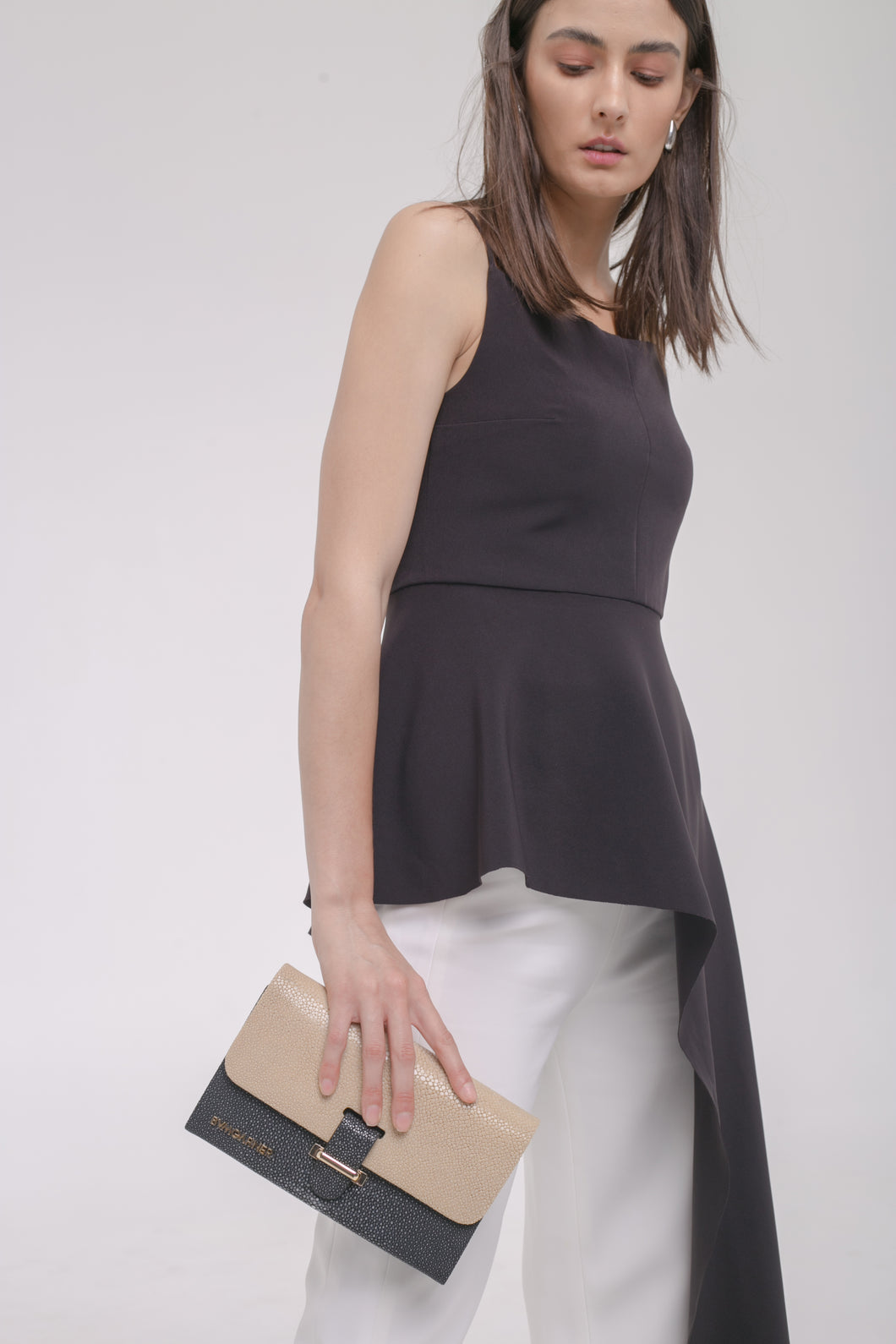 Kate Shoulder Bag Beigeblack