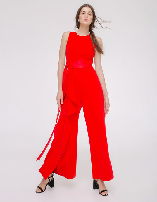 Blanche Pantsuit Red