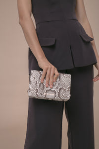 Naomi Shoulder Bag Blackwhite