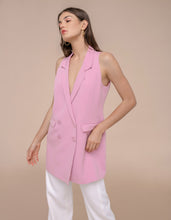 Load image into Gallery viewer, Bernadette Vest Blush