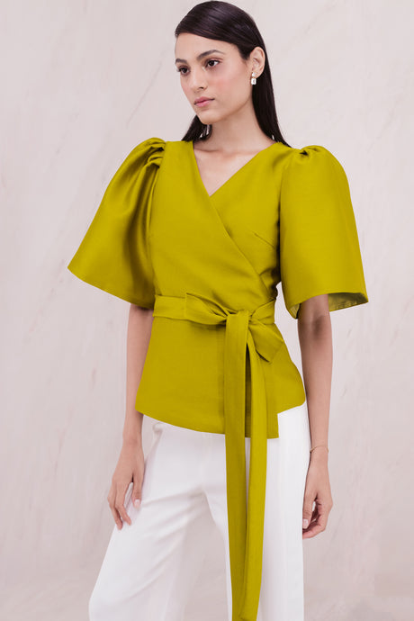 Consuelo Top Yellowgreen