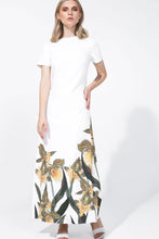 Load image into Gallery viewer, Amira Dress Printed White