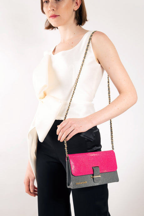 Kate Shoulder Bag Pinkgray