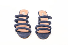 Load image into Gallery viewer, Venus 4 Strap Sandals Navyblue