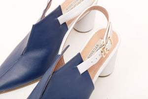 Kat Sling Back Pumps Bluewhite