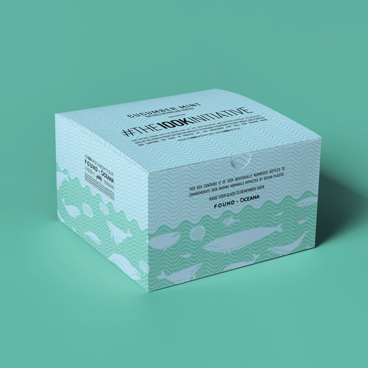 L'initiative 100k  - Concombre Menthe (Pack de 12)