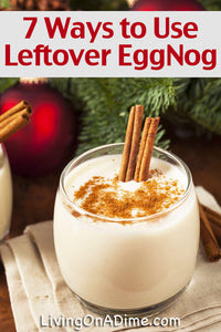 What do you do with leftover eggnog?! Here are a bunch of leftover eggnog recipes and tips to help you find ways to use all that extra eggnog!