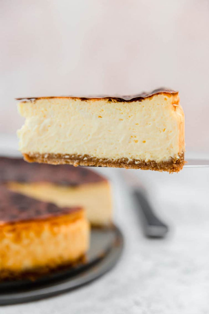 This New York Cheesecake recipe creates a creamy, rich, and indulgent baked dessert